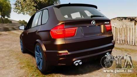 BMW X5M v2.0 für GTA 4 hinten links Ansicht