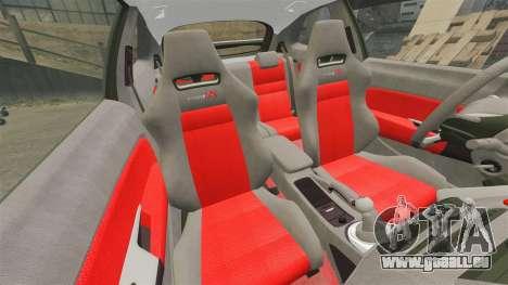 Honda Civic Type R 2007 pour GTA 4 est un côté
