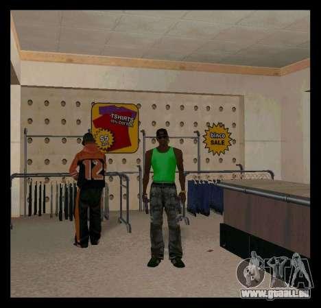 Vert et Violet Mike pour GTA San Andreas