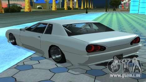Elegy 280sx v2.0 für GTA San Andreas Unteransicht