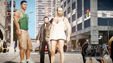 GTA V Michael De Santa für GTA 4 dritte Screenshot