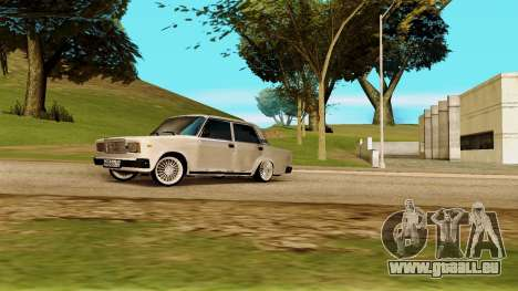 VAZ 2107 pour GTA San Andreas vue de droite
