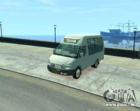 GAZelle SST Ruth-16 pour GTA 4