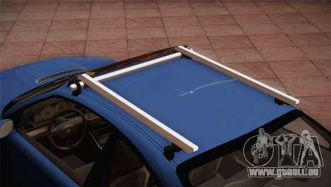 BMW M3 E46 Hellaflush für GTA San Andreas Rückansicht
