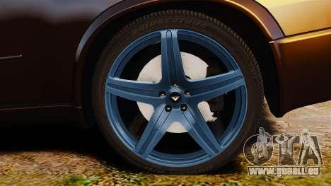 BMW X5M v2.0 für GTA 4 Rückansicht