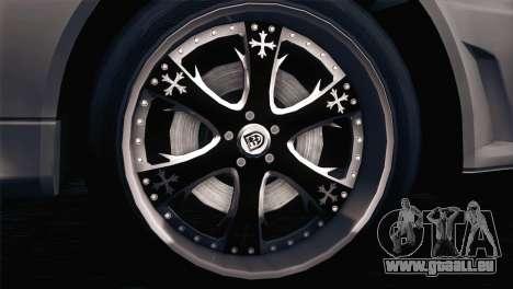 Nissan Skyline GT-R R34 V-Spec Lexani Rims pour GTA San Andreas laissé vue