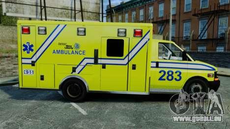 Brute New Liberty Ambulance [ELS] für GTA 4 linke Ansicht