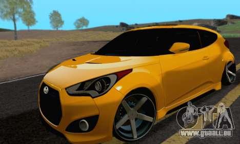 Hyundai Veloster für GTA San Andreas