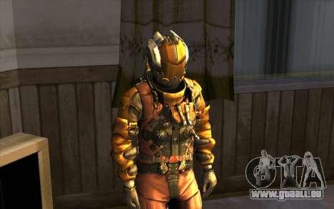 Isaac Clark in E.V.A Suit für GTA San Andreas