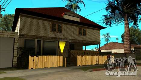 Maison moderne de Sijia v1.0 pour GTA San Andreas troisième écran