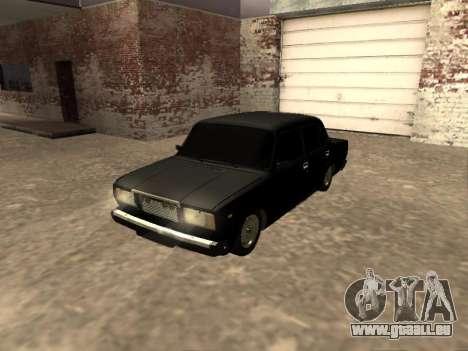 VAZ 2107 v1. 2 Final für GTA San Andreas