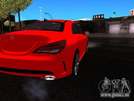 Mercedes-Benz CLA 250 pour GTA San Andreas vue arrière