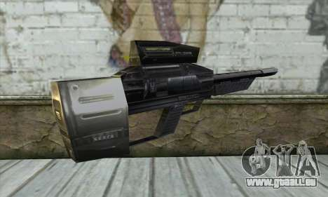 P-Laser Sniper Rifle für GTA San Andreas zweiten Screenshot