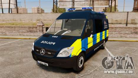 Mercedes-Benz Sprinter Police [ELS] pour GTA 4