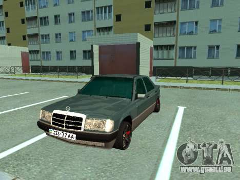 Mercedes-Benz E500 für GTA San Andreas