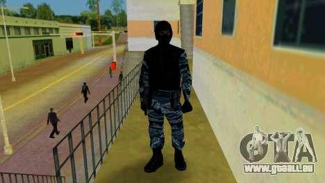 OMON Fighter pour le quatrième écran GTA Vice City