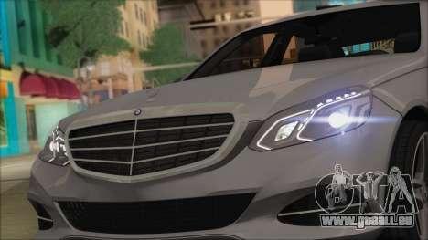 Mercedes-Benz E63 AMG 2014 für GTA San Andreas Innenansicht