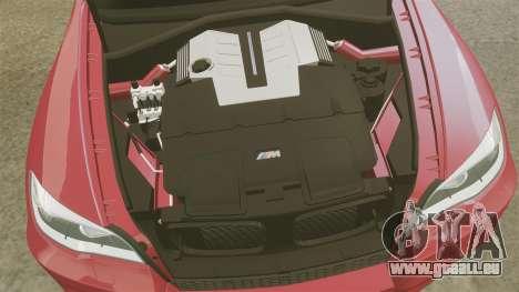 BMW X5M v2.0 pour GTA 4 est un côté