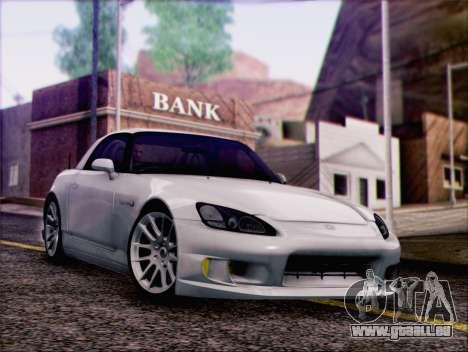 Honda S2000 Daily pour GTA San Andreas vue intérieure