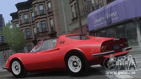 Ferrari Dino 246 GTS pour GTA 4 est un côté