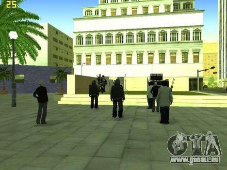 Le concert Film pour GTA San Andreas septième écran