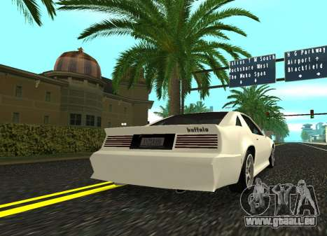 Buffalo HD pour GTA San Andreas laissé vue
