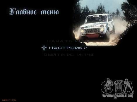 Menü sowjetischen Autos für GTA San Andreas