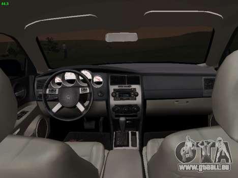 Dodge Charger RT 2008 pour GTA San Andreas sur la vue arrière gauche