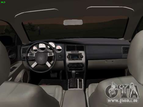 Dodge Charger RT 2008 für GTA San Andreas zurück linke Ansicht