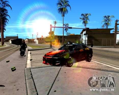 ENB pour PC faible pour GTA San Andreas deuxième écran