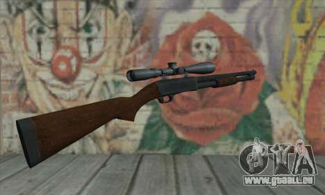 Shotgun Model 12 für GTA San Andreas zweiten Screenshot