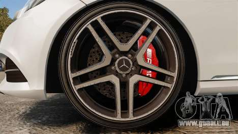 Mercedes-Benz E63 AMG 2014 v2.0 pour GTA 4 Vue arrière