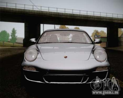 Porsche 911 Carrera pour GTA San Andreas vue de dessus