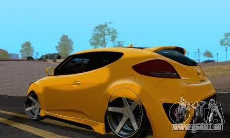 Hyundai Veloster für GTA San Andreas linke Ansicht