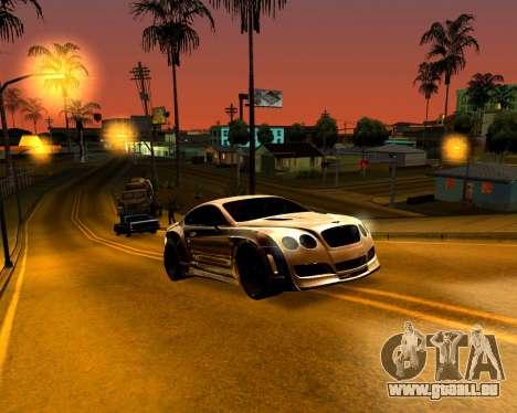 ENB pour PC faible pour GTA San Andreas troisième écran