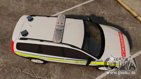 Volvo XC70 Emergency Response Unit [ELS] für GTA 4 rechte Ansicht