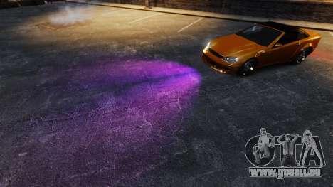 Violet lumières pour GTA 4