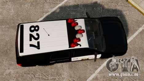 Chevrolet Tahoe 2007 LCHP [ELS] für GTA 4 rechte Ansicht