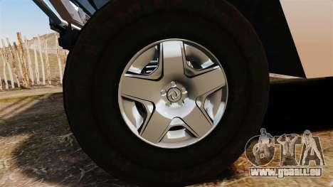 Dongfeng EQ2050 pour GTA 4 Vue arrière