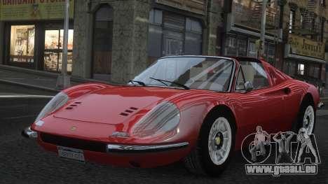 Ferrari Dino 246 GTS für GTA 4 Unteransicht