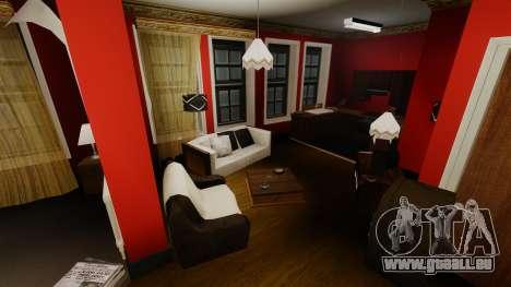 Appartement rénové dans l'Alderney city pour GTA 4
