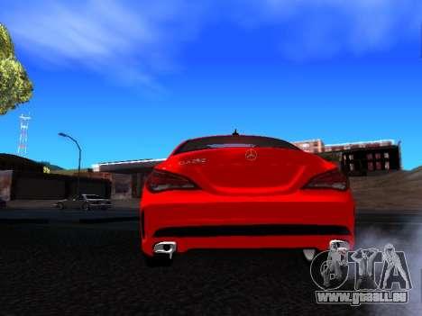 Mercedes-Benz CLA 250 pour GTA San Andreas vue de droite
