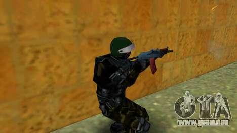Kämpfer Alfa Antiterror für GTA Vice City dritte Screenshot