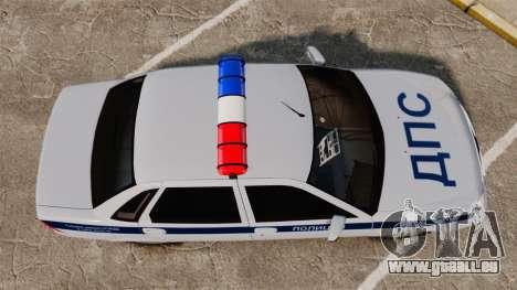 VAZ-2170 Polizei für GTA 4 rechte Ansicht