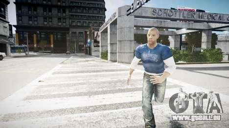 Vin Diesel Wheelman pour GTA 4 secondes d'écran