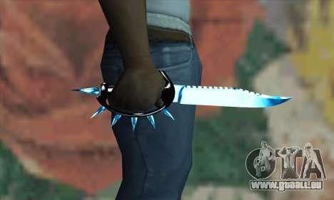 Couteau pour GTA San Andreas troisième écran