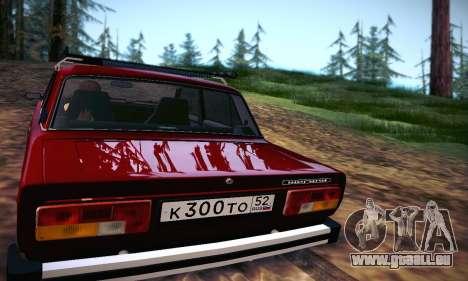 Vaz 21053 pour GTA San Andreas vue de droite