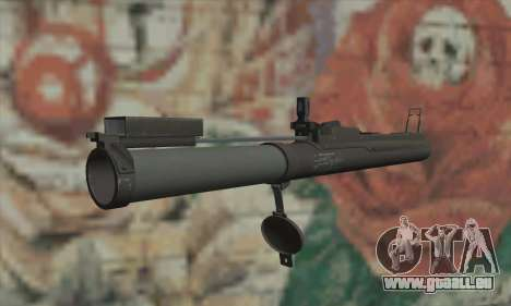 M72 LAW pour GTA San Andreas