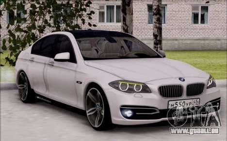 BMW 550 F10 xDrive für GTA San Andreas