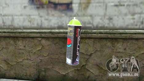 Montana Nitro Spray pour GTA San Andreas